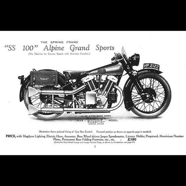 The Brough Superior Motorcycle