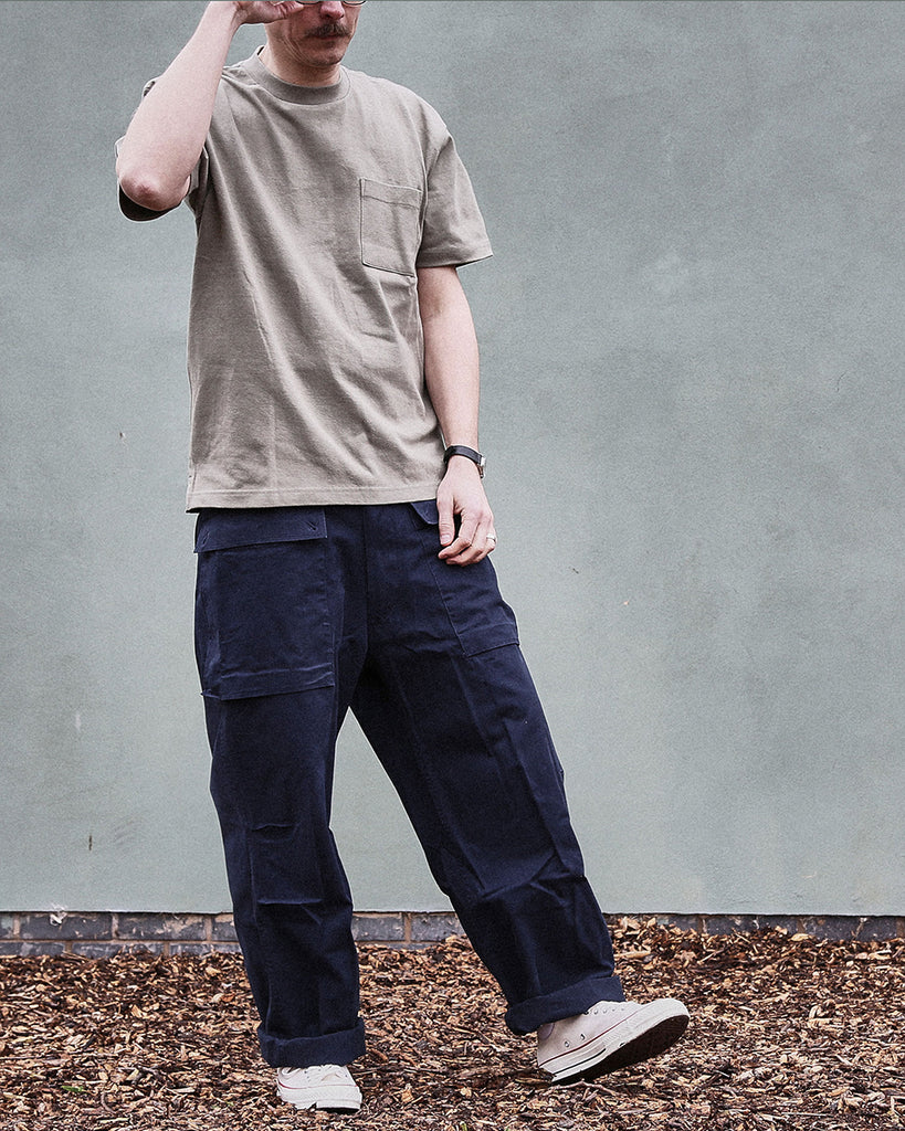 Men's Fatigue Tee and USMC Marine Pants Outfit Realm Empire