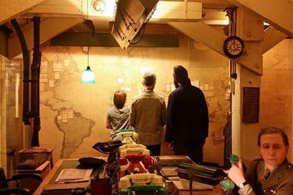 Map Room, IWM Churchill War Rooms, London | Realm & Empire