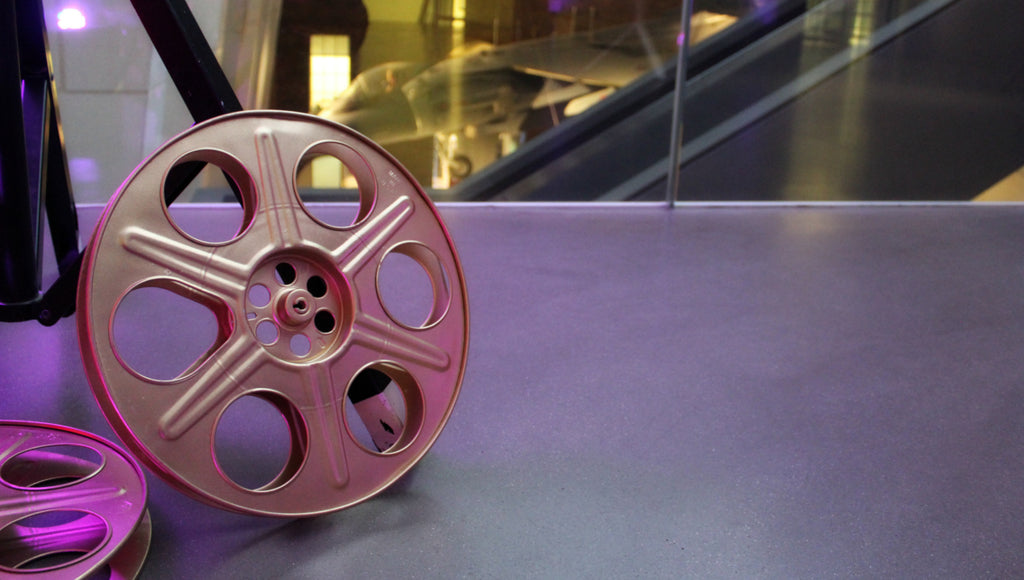 Film Reel at IWM London's Real to Reel Exhibition | Realm & Empire