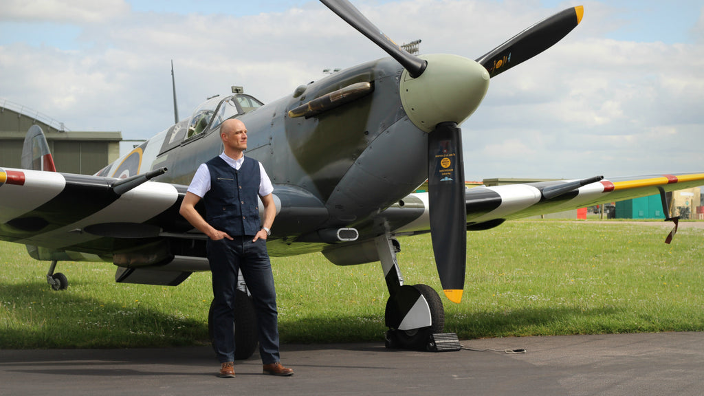 Flying a Spitfire with BBMF RAF Pilot Justin Helliwell | Realm & Empire