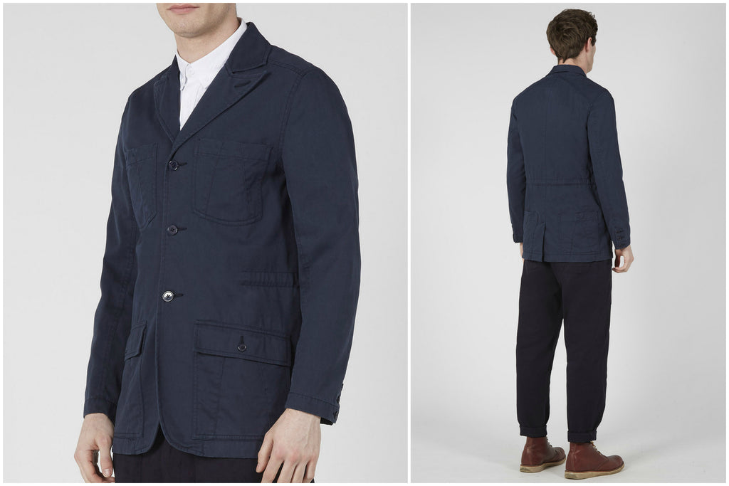 Jungle Field Jacket (Navy) | Realm & Empire