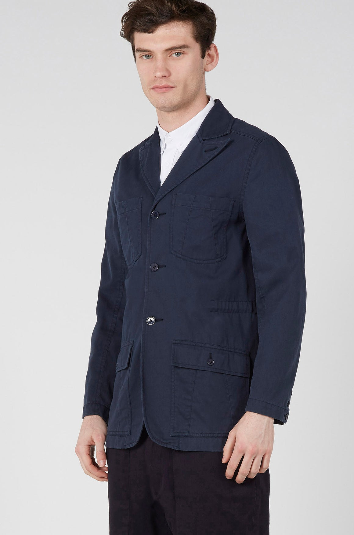 Realm & Empire Jungle Field Jacket | Navy