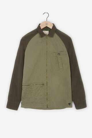 Realm & Empire Ghost Patrol Zip-Thru Jacket | Green