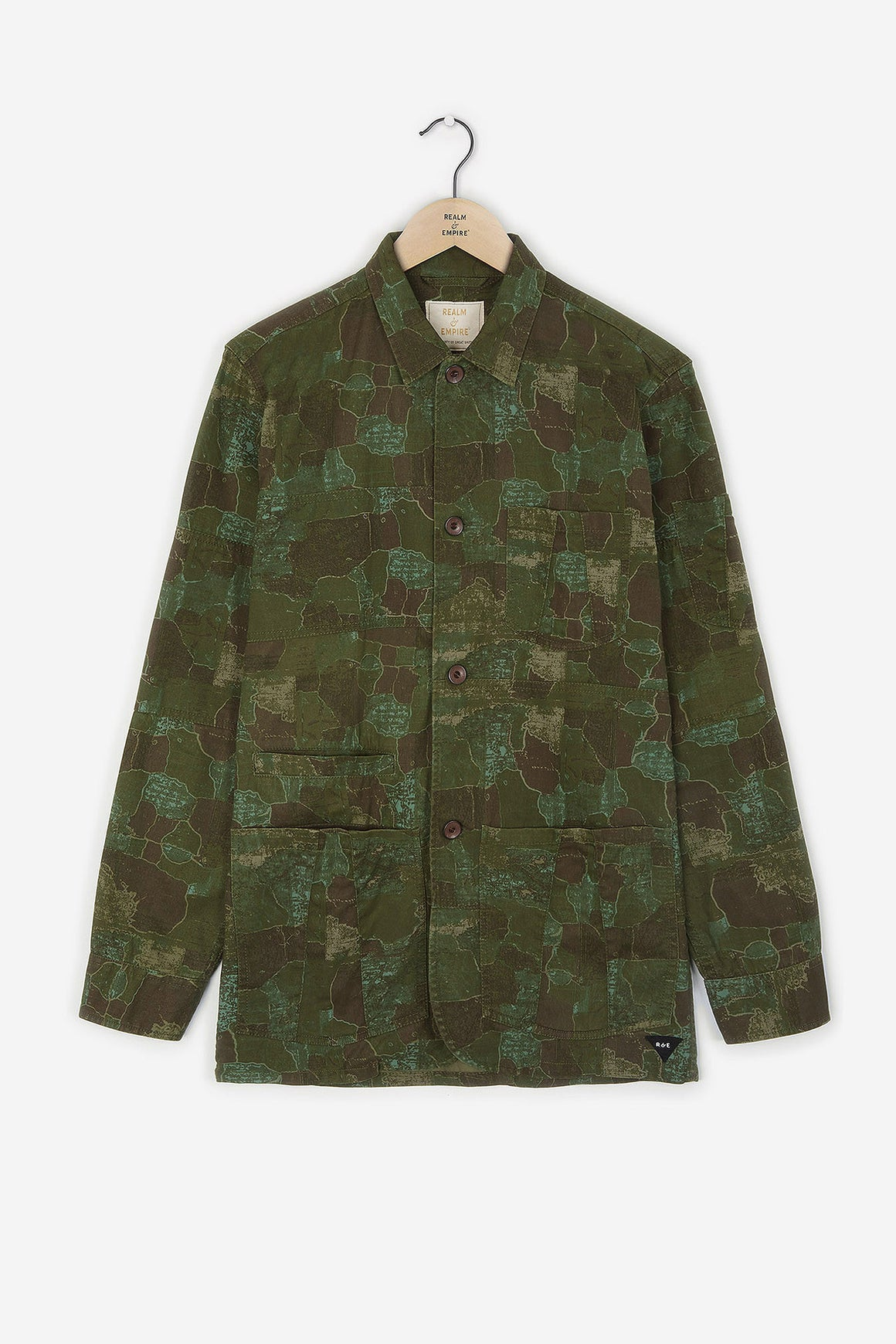 Realm & Empire Combat Jacket | Camo Green