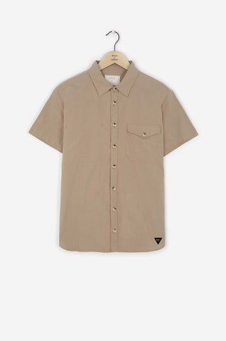 Realm & Empire Short Sleeve Archive Shirt | Stone
