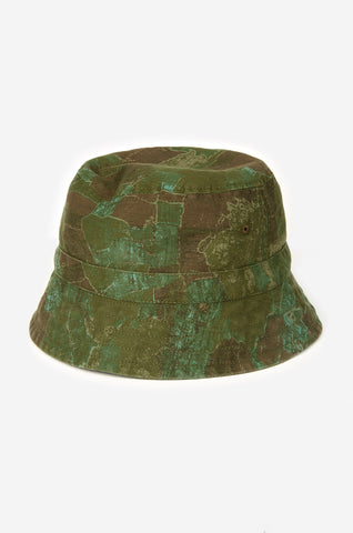 Realm & Empire Bucket Hat | Camo Green