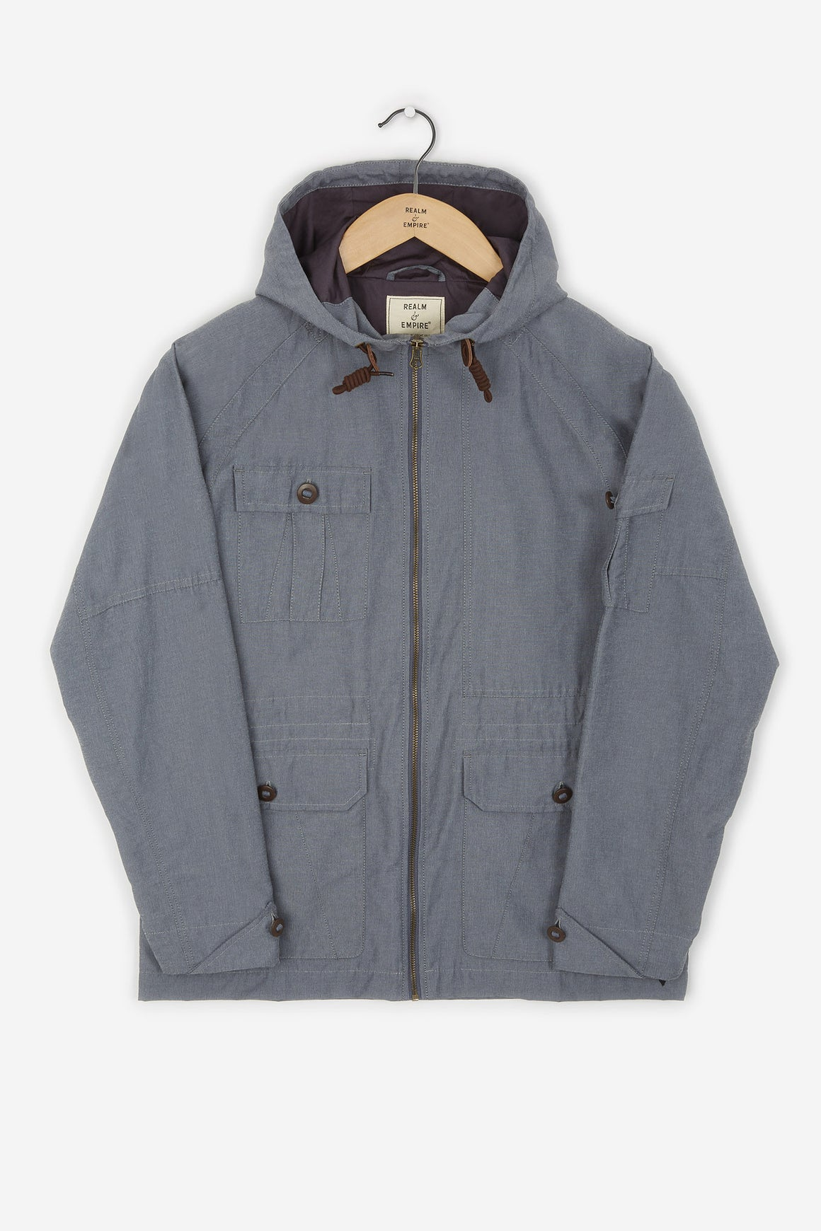 Realm & Empire Long Range Patrol Jacket | Navy