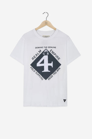 Realm & Empire Field Supplies Tee | White