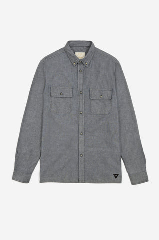 Long Sleeve Men's Shirt Inspired by Military Style | Realm & Empire