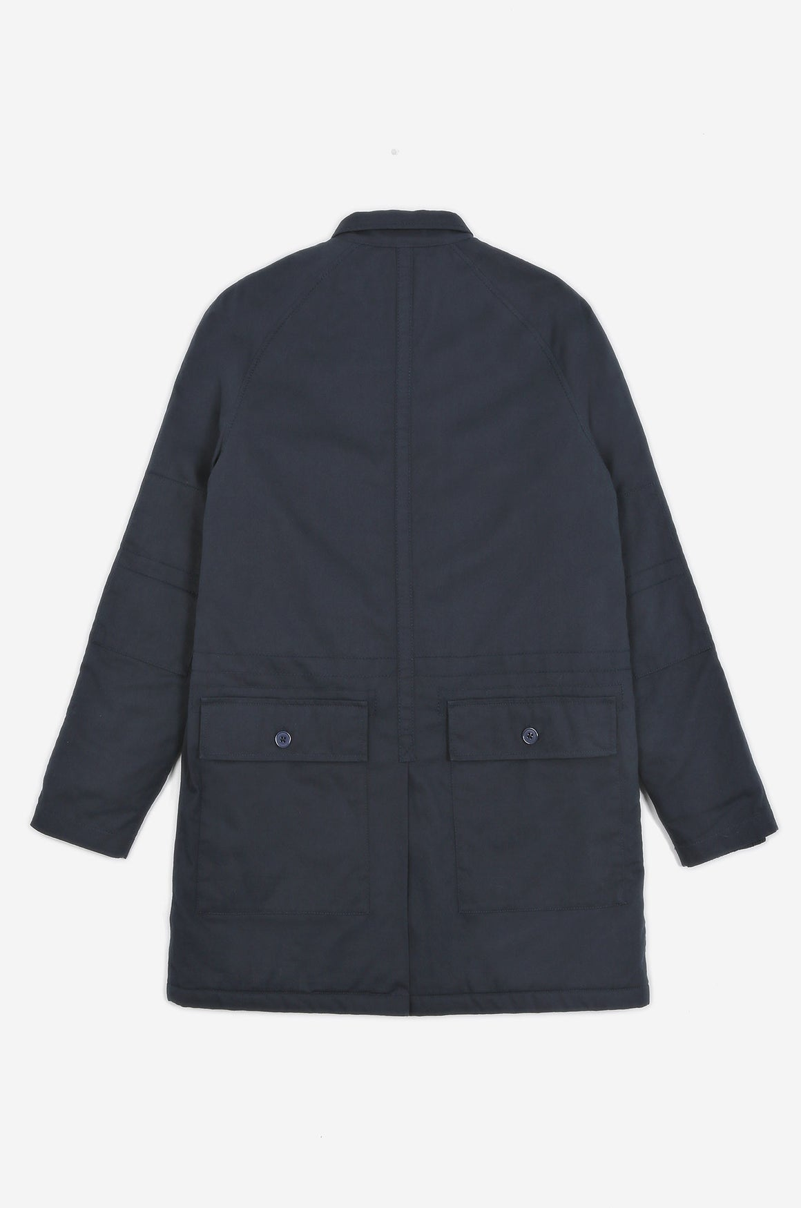 Men's Torpedoman's Quilted Deck Jacket (Navy) | Realm & Empire