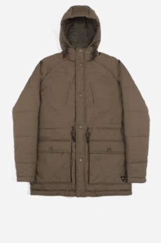 Men's Thermal Puffa Jacket (Dark Sand) | Realm & Empire