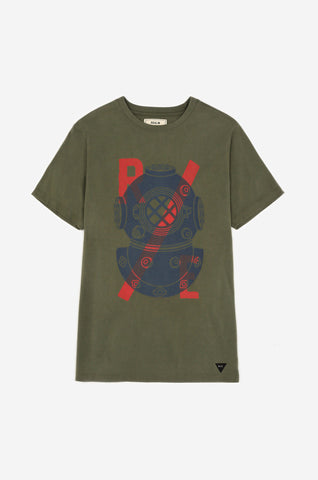 Men's Amphibious Tee (Green) | Realm & Empire
