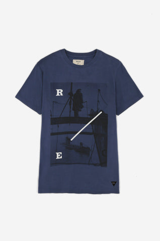 Men's Boom Defence Tee (Navy) | Realm & Empire