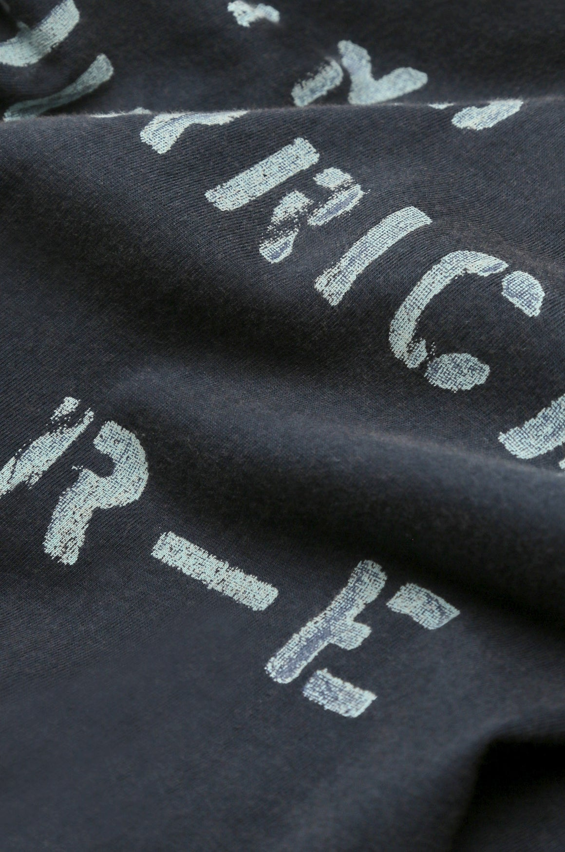 Men's Hurricane Stencil Tee (Navy) | Realm & Empire