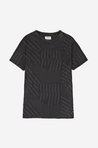 Men's Stencil Dazzle Tee (Navy) | Realm & Empire