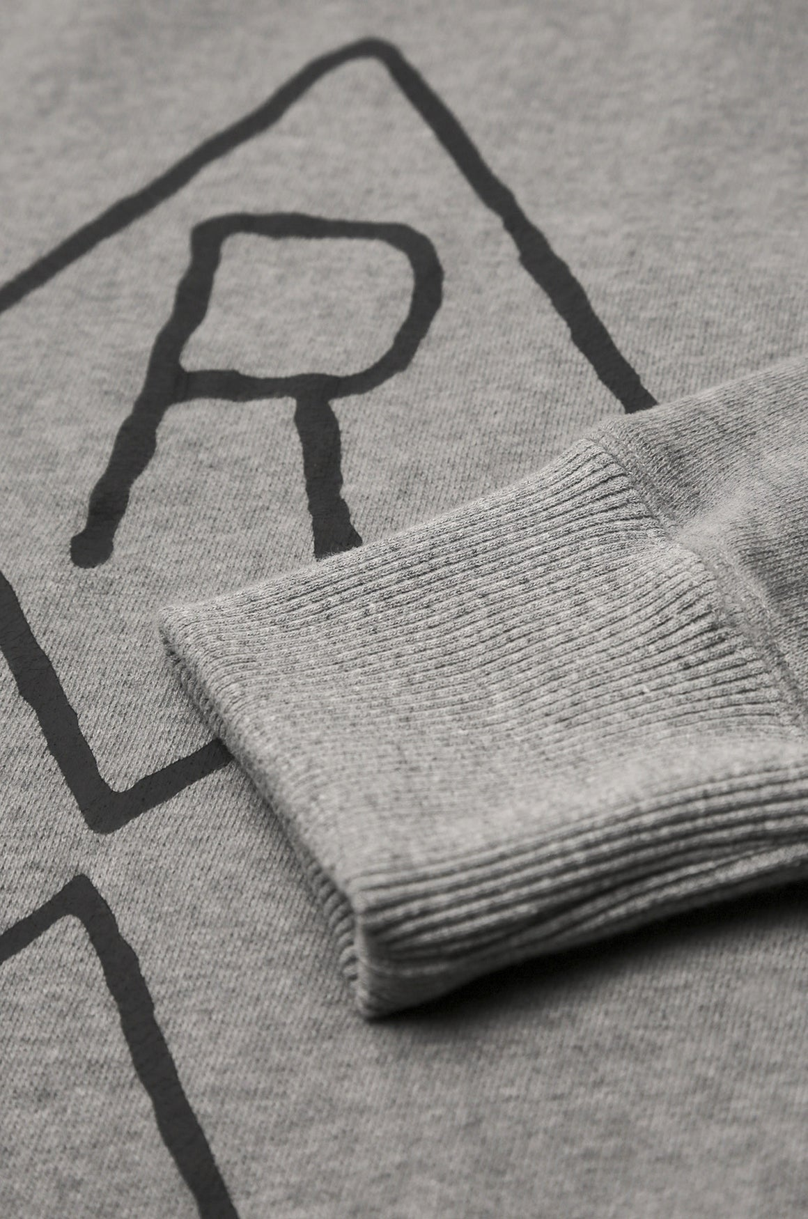Men's Recruiter Crew Neck Sweater (Grey Marl) | Realm & Empire