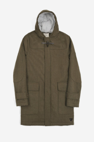 Men's Captain Duffle Coat (Olive) | Realm & Empire