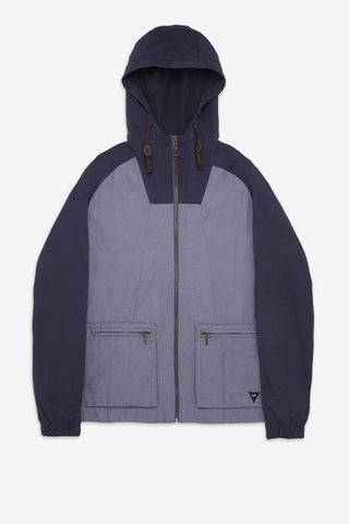 Men's Hooded Ghost Patrol Jacket in Navy