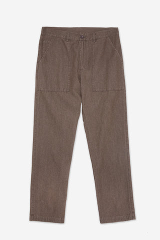 Regular Fit Twill Deck Work Pants | Bronze (RE0464)