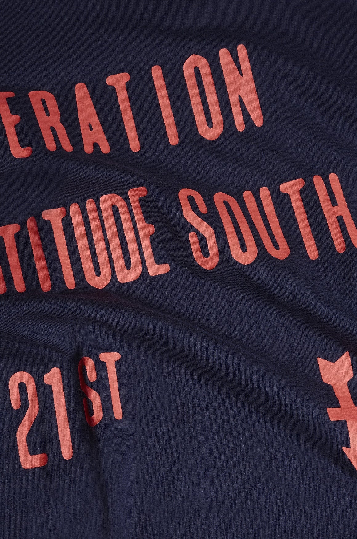 Men's Operation Fortitude Slogan Tee | Dark Navy