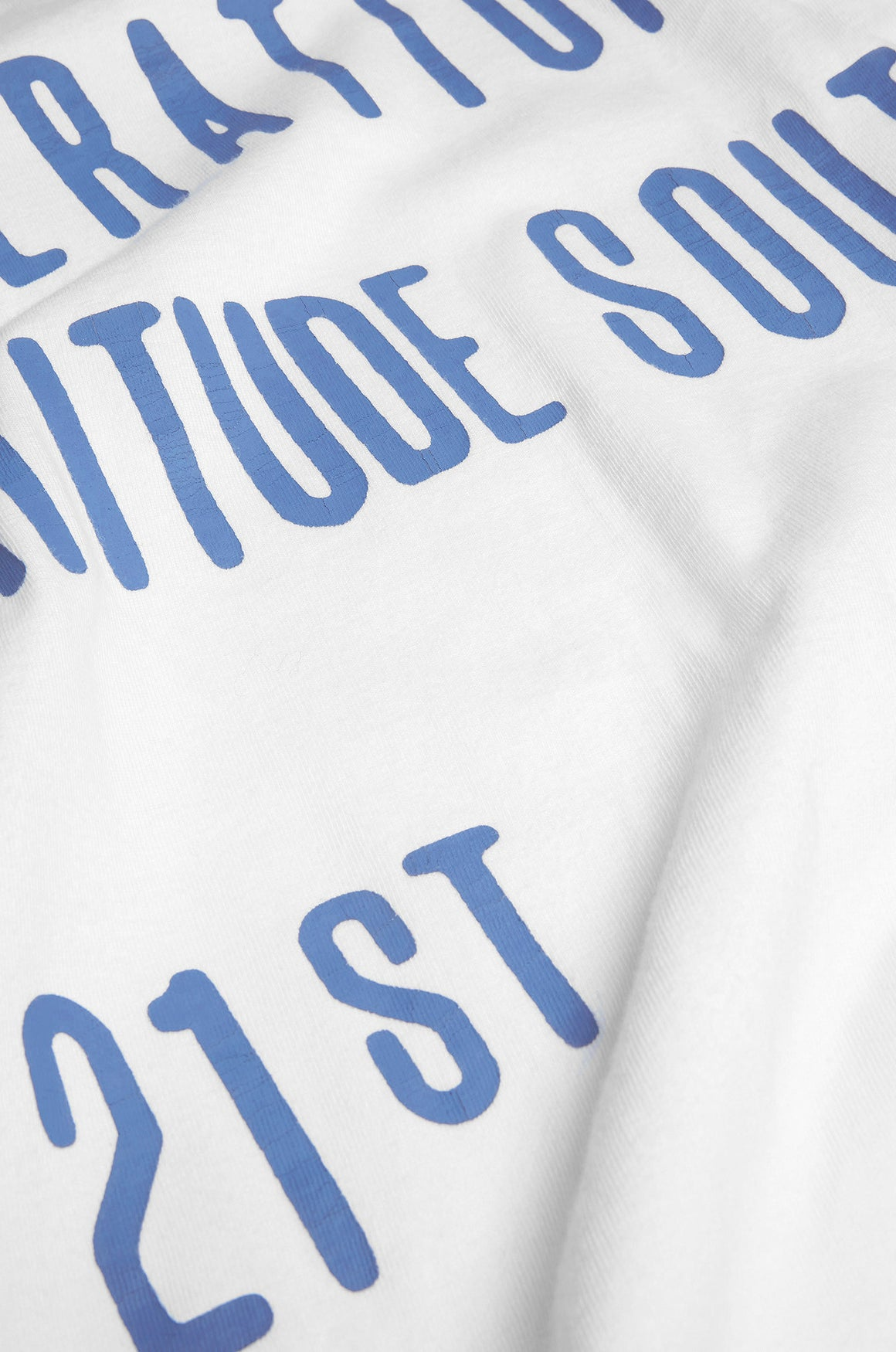 Men's Operation Fortitude Slogan Tee | Optic White