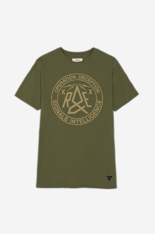 Men's RE Signals Intelligence Tee | Parachute Green