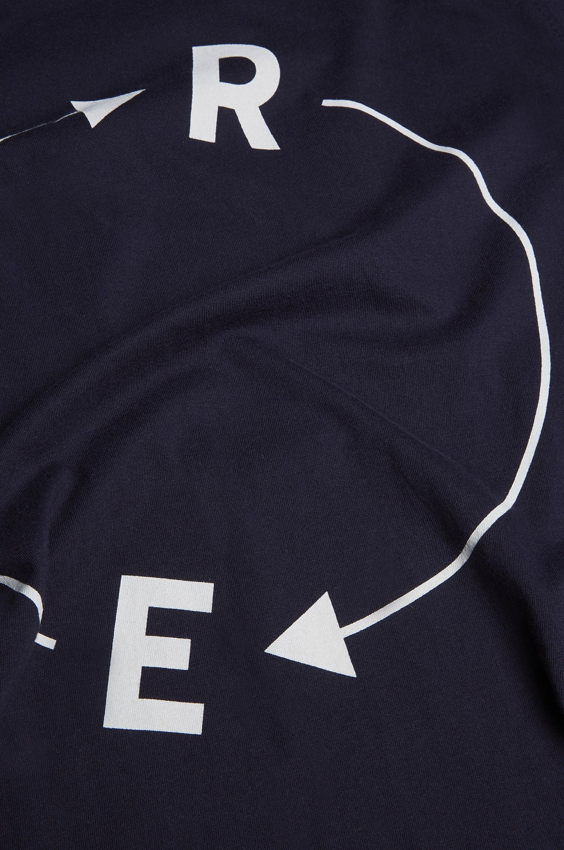 Men's Enigma Cipher Tee | Dark Navy