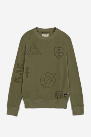 Men's Operation Insignia Sweatshirt | Parachute Green
