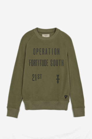 Men's Fortitude South Sweatshirt | Parachute Green