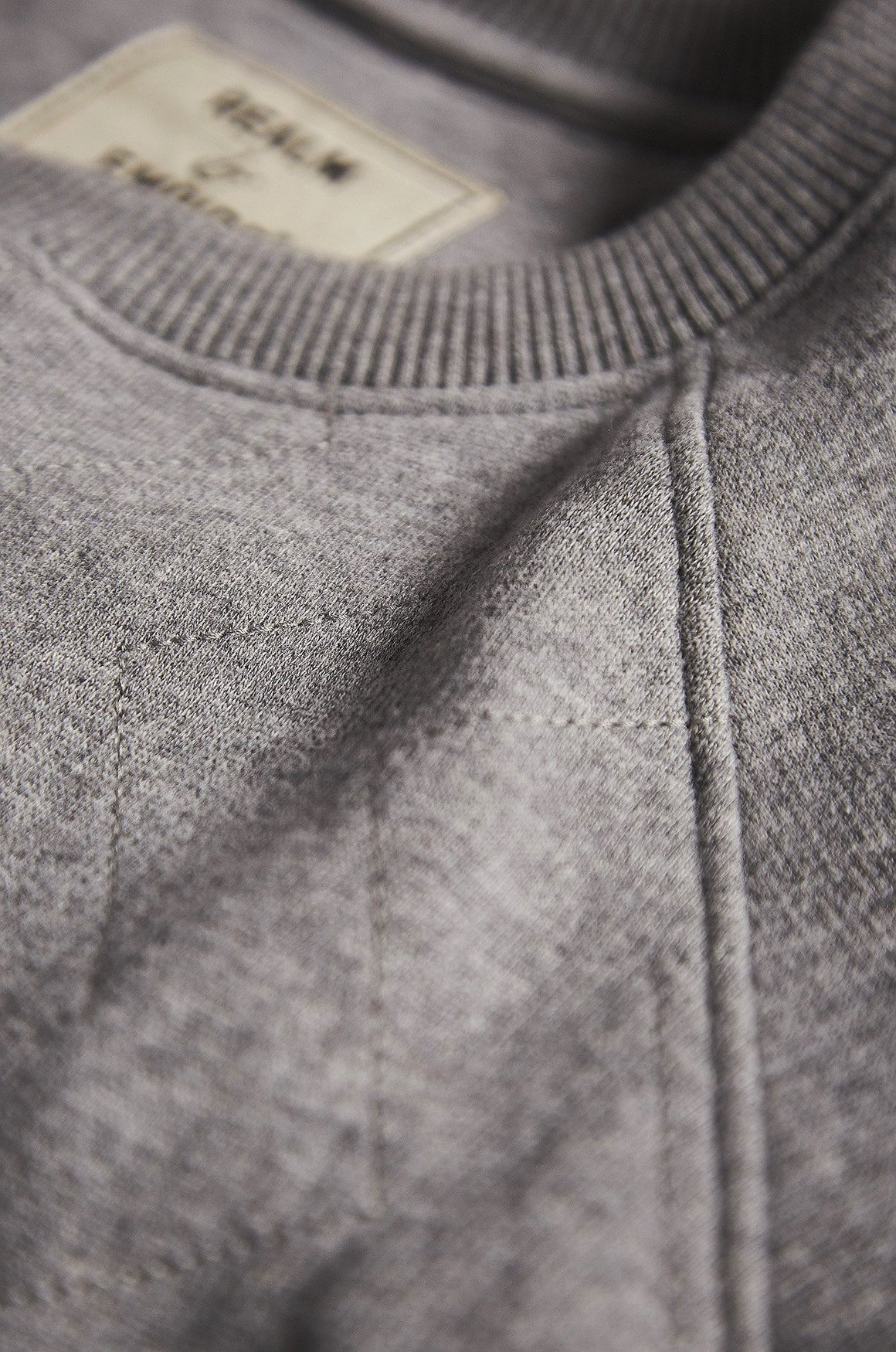 Zigzag Sweatshirt - Military PT Sportswear | Realm & Empire - Front
