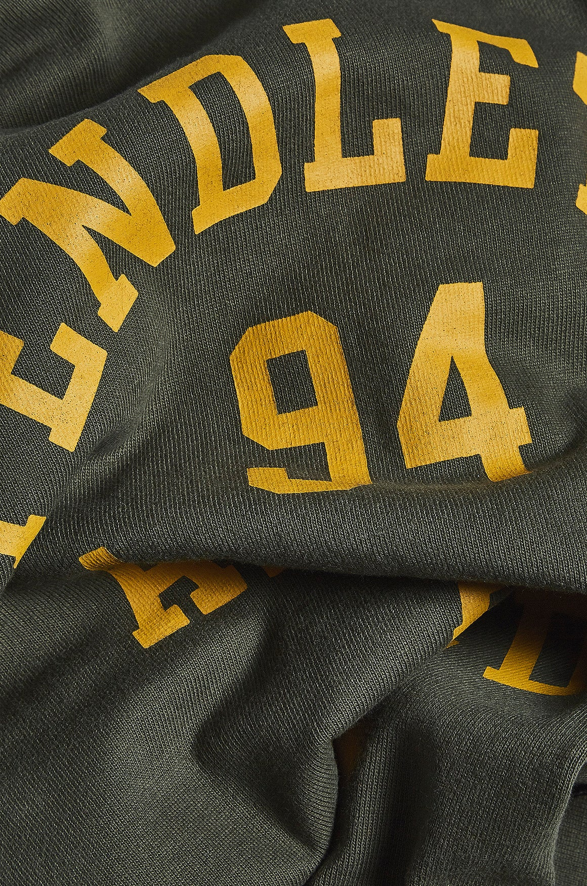 Pendleton Field Tee with Yellow Writing - USAAF WW2 - realm empire