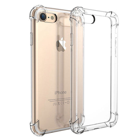 iPhone 6, 6s Clear Gel Shockproof Covers