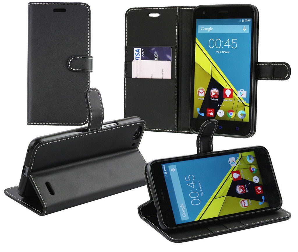 Vodafone Turbo 7 Wallet Flip Cases