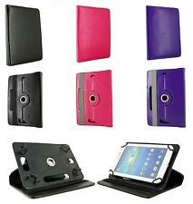 "Universal Folio Leather Flip Case Cover For Android Tablet PC 7"" to 10"""