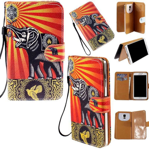 Samsung Galaxy S3 Flip Wallet Card Stand PU Leather Case