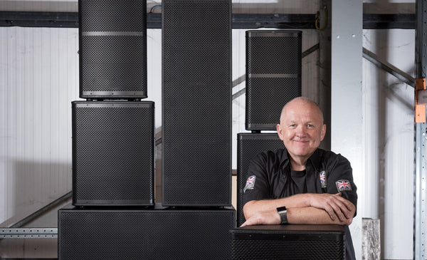 Line Array and Point Source Speakers Demo Centre