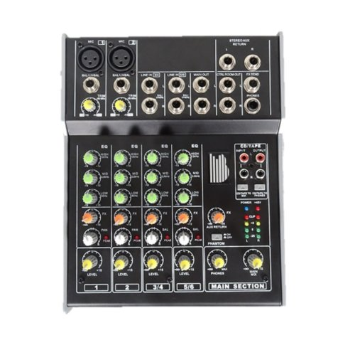 BishopSound Mixer 6 Channel