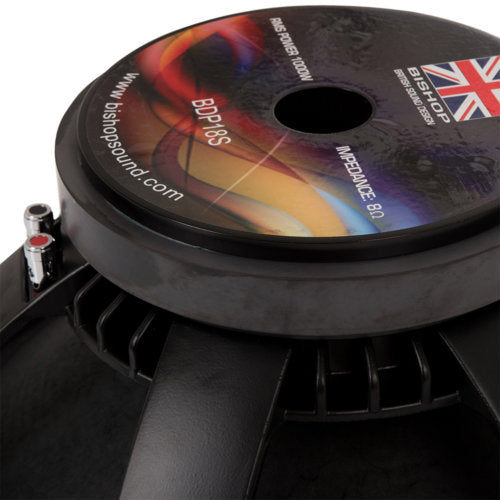 "18"" Speaker 1000w RMS Sub Bass Woofer 8½"