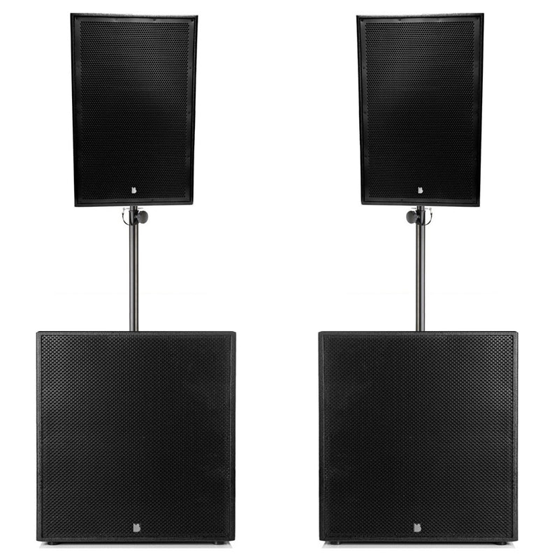 "Big Gig Rig 11 - Passive 4200w RMS 15"" Tops and 21"" Subwoofer PA System"