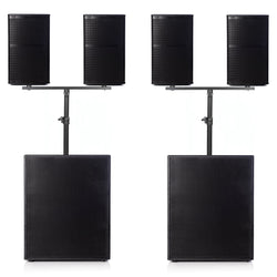 "Big Gig Rig 25 - Passive 3200w RMS 10"" Tops And 18"" Subwoofer PA System (1)"