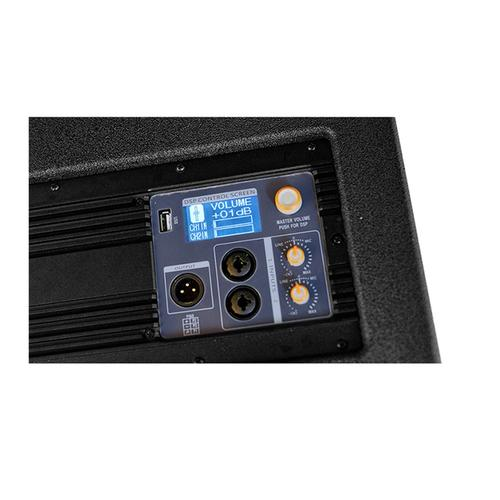"Compact Active Line Array Set Dual 4"" Array 5 Box Set With 12"" Active Sub - Flight Case Included"