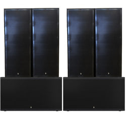 Big Gig Rig 2 - 8400w RMS Plywood Point Source Passive PA System