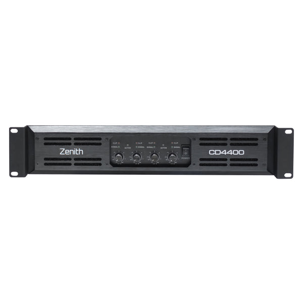Zenith CD4400 - 4 Channel Power Amplifier 2400W RMS