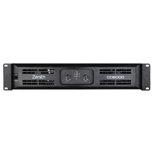 Zenith CD8000 - 2 Channel Power Amplifier 8000W RMS