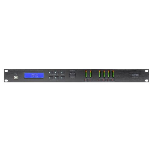Speaker Management System Digital Processor With Limiters 2 In 4 Out - Zenith LSP204