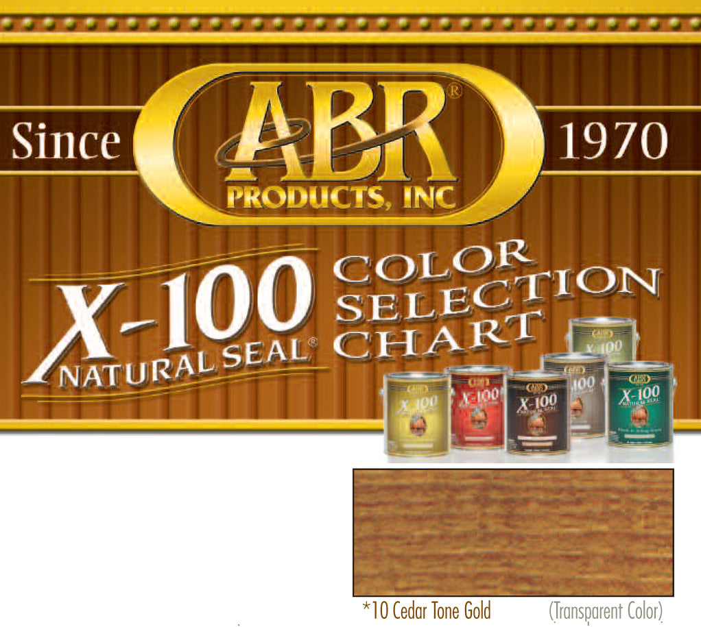 X 100 Natural Seal Deck Stain I Wood Care
