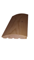 log siding grooved