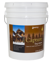 Capture Log Stain Free Shipping 5 Gallon Pails Only.  Have to call to get this offer.