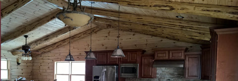 Decorative Joist And Rafters (Red Pine)